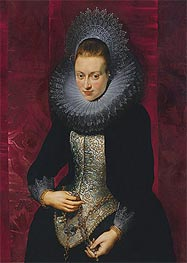 Portrait of a Young Woman with a Rosary | Rubens | Gemälde Reproduktion