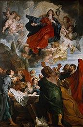 The Assumption of the Virgin Mary | Rubens | Gemälde Reproduktion