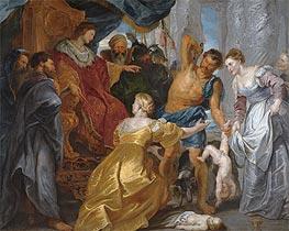 The Judgement of Solomon | Rubens | veraltet
