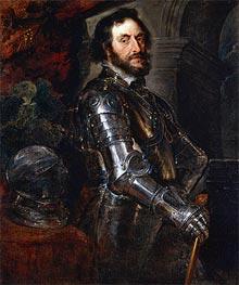 Portrait of Thomas Howard, Earl of Arundel | Rubens | Gemälde Reproduktion