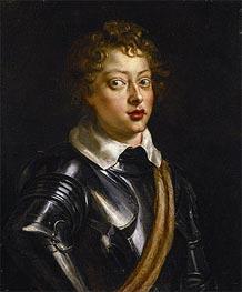 Vincenzo II Gonzaga, Duke of Mantua | Rubens | Gemälde Reproduktion