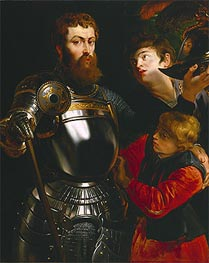 Warrior With Two Pages | Rubens | veraltet