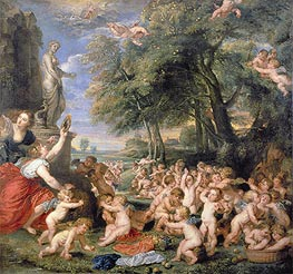 Worship of Venus | Rubens | veraltet