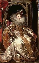 Portrait of Marchesa Maria Serra Pallavicino | Rubens | Gemälde Reproduktion