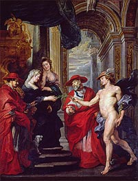 The Treaty of Angouleme (The Medici Cycle) | Rubens | veraltet