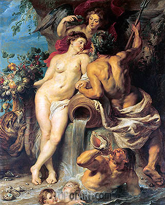 The Union of Earth and Water, c.1618 | Rubens | Painting Reproduction