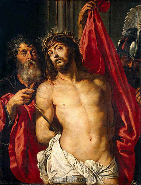 The Crown of Thorns (Ecce Homo), c.1612 | Rubens| Painting Reproduction