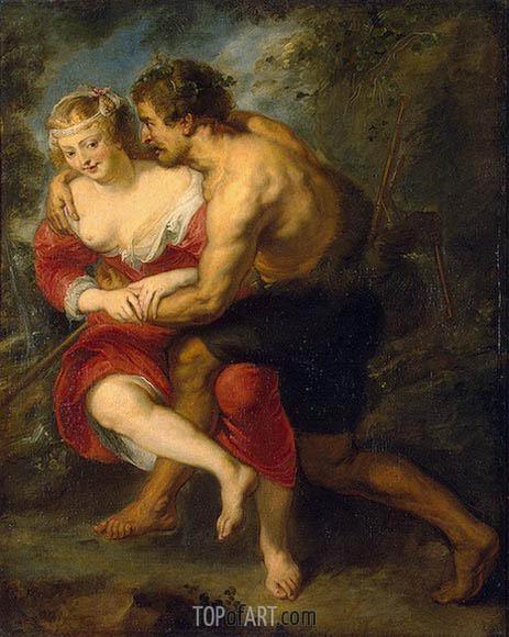 Pastoral Scene, c.1636/38 | Rubens | Painting Reproduction