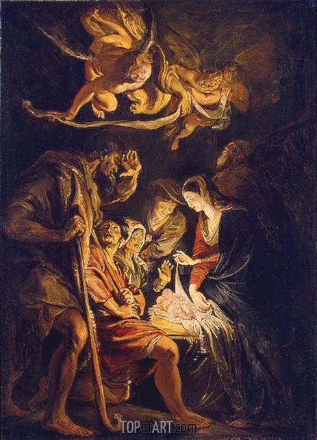 Rubens | The Adoration of the Shepherds, 1608