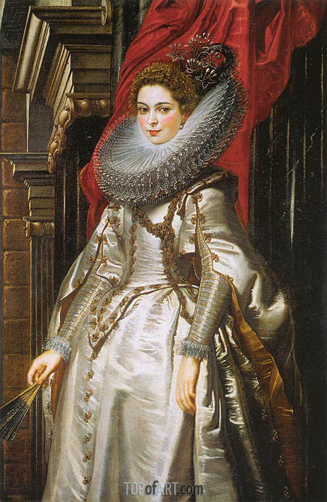 Rubens | Portrait of Marchesa Brigida Spinola Doria, 1606