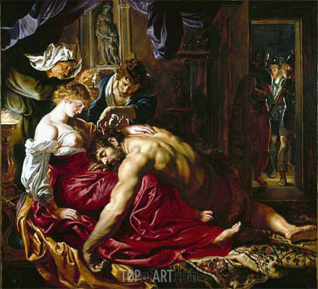 Rubens | Samson and Delilah, c.1609/10