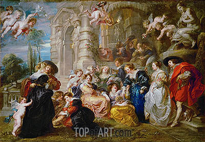 Rubens | Garden of Love, c.1633
