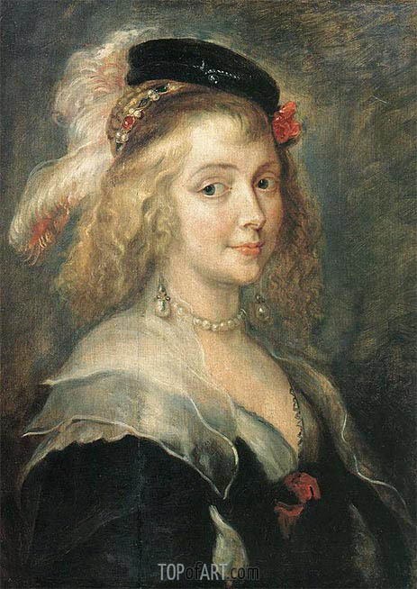 Rubens | Portrait of Helena Fourment, c.1630