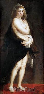Rubens | Helena Fourment in a Fur Wrap (Het Pelsken), 1638