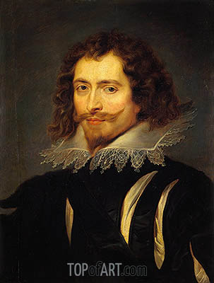 The Duke of Buckingham, c.1625 | Rubens | Painting Reproduction