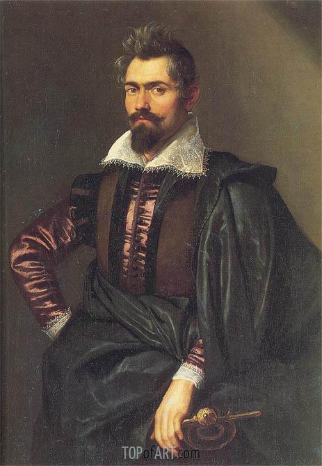 Portrait of Gaspard Schoppins, c.1604/05 | Rubens | Gemälde Reproduktion