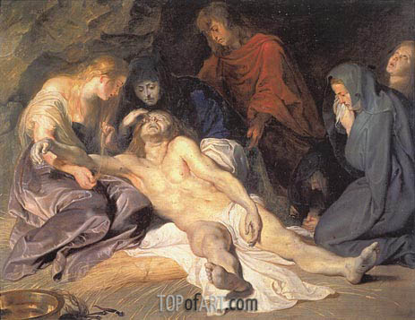 The Lamentation, 1614 | Rubens | Painting Reproduction