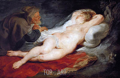 Angelica and the Hermit, c.1626/28 | Rubens| Painting Reproduction