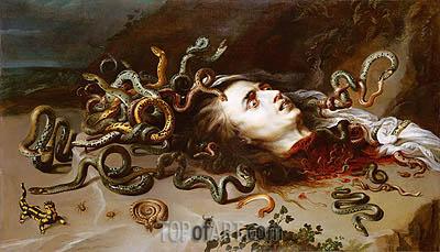 Rubens | The Head of Medusa, c.1617/18