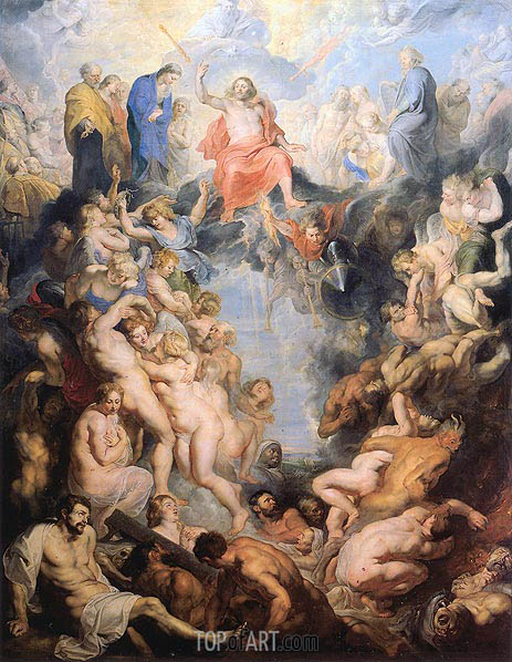 The Last Judgement, c.1615/16 | Rubens | Gemälde Reproduktion