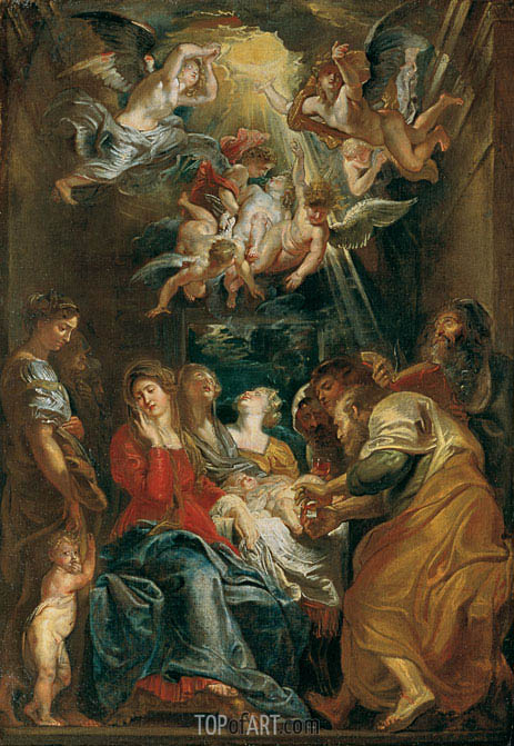 The Circumcision, 1605 | Rubens| Painting Reproduction