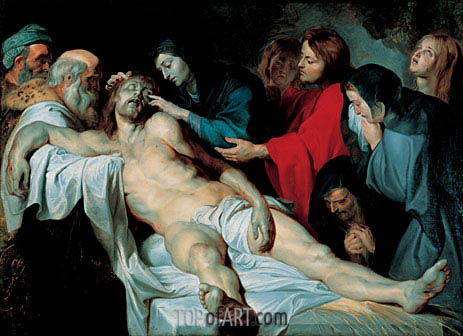 The Mourning of Christ, c.1613/14 | Rubens | Painting Reproduction