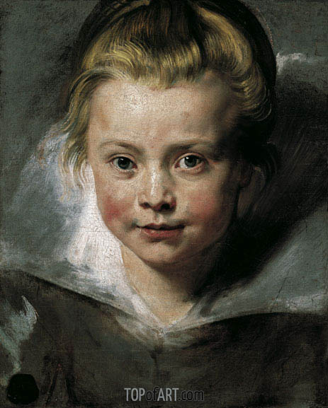 Portrait of Clara Serena Rubens, c.1616 | Rubens| Painting Reproduction