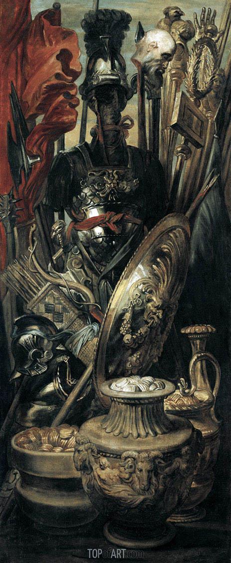 The Trophy, c.1616/17 | Rubens | Gemälde Reproduktion