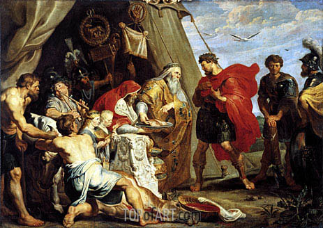 The Interpretation of the Victim, c.1616/17 | Rubens | Painting Reproduction