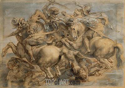Battle of Anghiari, undated | Rubens | Gemälde Reproduktion