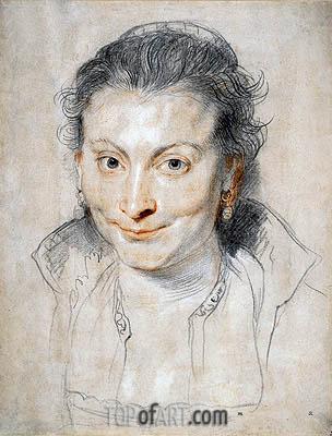 Portrait of Isabella Brandt, 1621 | Rubens | Gemälde Reproduktion