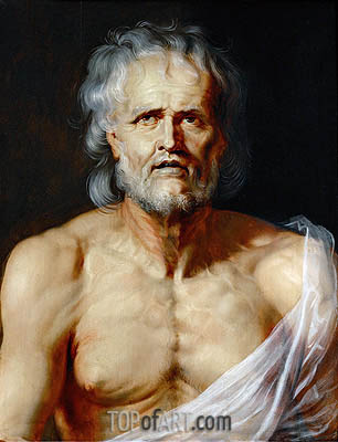 The Dying Seneca, undated | Rubens| Gemälde Reproduktion