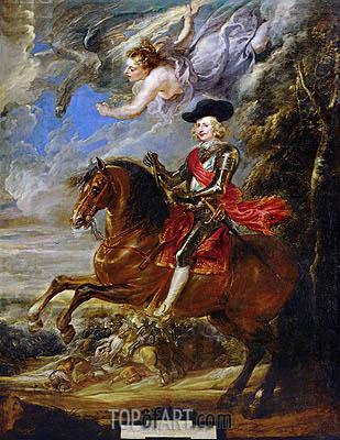 Cardinal-Infante Fernando de Austria at the Battle of Nördlingen, c.1635/40 | Rubens | Gemälde Reproduktion