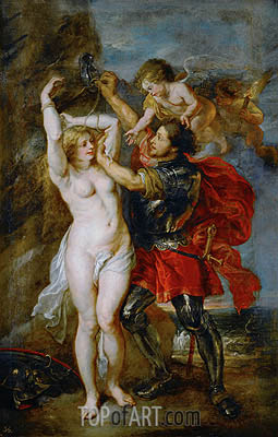 Perseus Freeing Andromeda, c.1641/42 | Rubens| Painting Reproduction