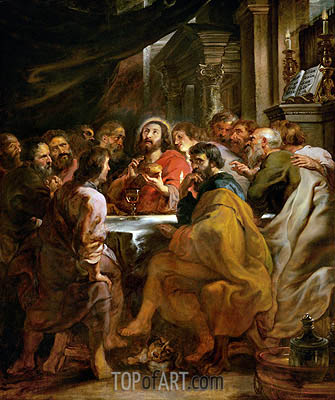 Last Supper, c.1630/32 | Rubens | Painting Reproduction