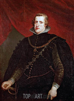 Philip IV of Spain, undated | Rubens| Painting Reproduction
