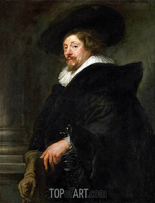 Peter Paul Rubens (Self-Portrait), c.1639/40 | Rubens| Painting Reproduction
