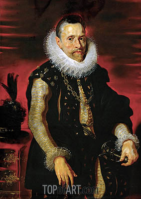 Archduke Albrecht VII, Governor of the Netherlands, c.1613/15 | Rubens| Gemälde Reproduktion