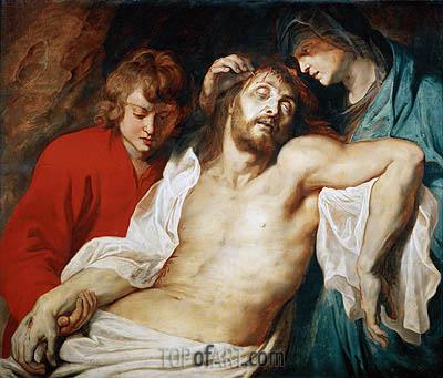 Beweinung Christi durch Maria und Johannes, c.1614/15 | Rubens | Gemälde Reproduktion