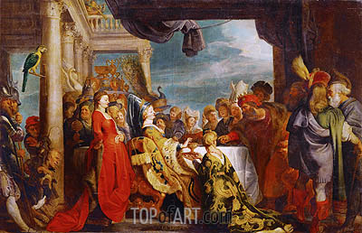 Rubens | Alboin and Rosamunde, 1615