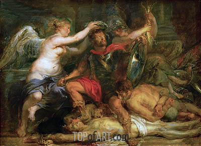 Coronation of the Victor, 1630 | Rubens| Painting Reproduction