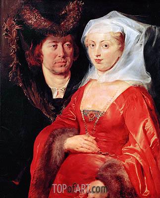 Rubens | Ansegius and Saint Bega, c.1612/15