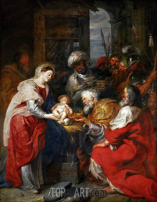 Rubens | The Adoration of the Magi, c.1626/29
