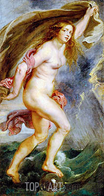 Fortune, c.1636/38 | Rubens| Painting Reproduction