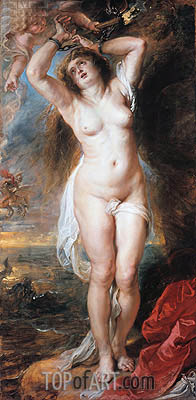Perseus Freeing Andromeda, 1638   Rubens   Gemälde Reproduktion