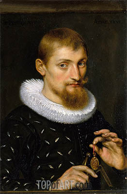 Portrait of a Man, undated | Rubens | Painting Reproduction