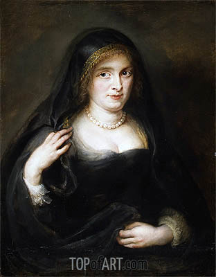 Portrait of a Woman (Susanna Lunden), undated | Rubens | Painting Reproduction
