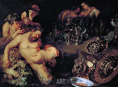 Drunken Silenus, c.1611/12 | Rubens| Painting Reproduction