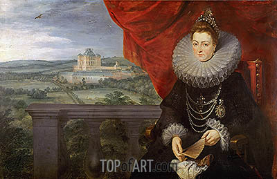 The Infanta Isabel Clara Eugenia, c.1615 | Rubens | Painting Reproduction