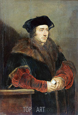 Sir Thomas More, c.1625/30 | Rubens| Painting Reproduction